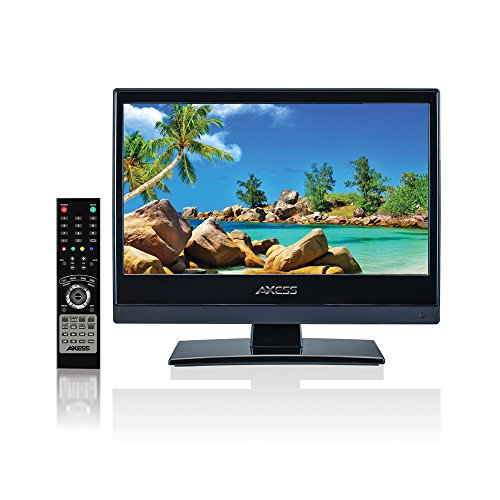 AXESS TV170313 13.3 INCH HD LED TV WITH AC DC USB HDMI ATSC