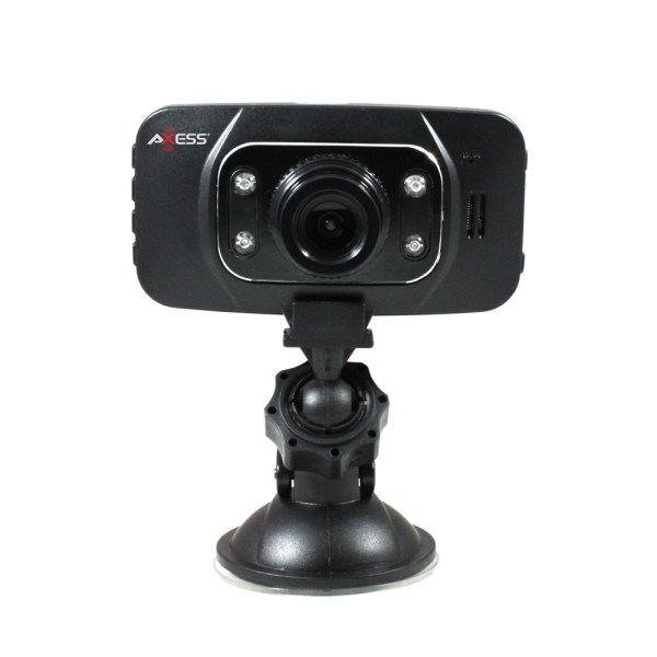 AXESS DC4207 BLACK DASH CAMERA 1080P & CAR DVR WITH MOTION