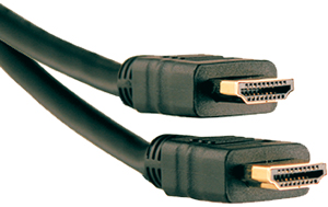 Axis 41202 High-Speed HDMI Cable with Ethernet, 6ft