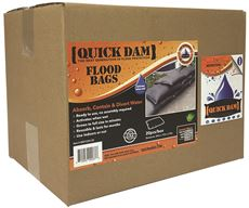 QUICK DAM� EXPANDING SANDLESS SANDBAG, 12 X 24 IN., 20 PER CASE