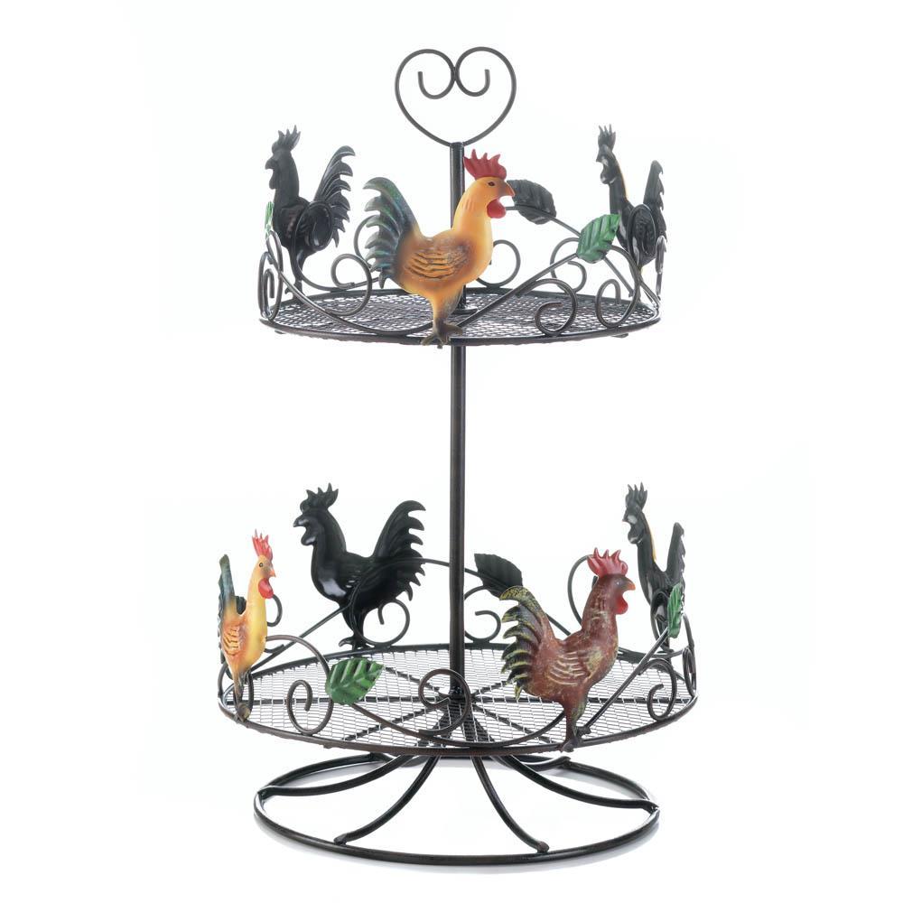 Rooster 2 Tier Countertop Rack