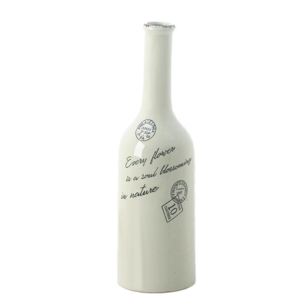 Blossoming Long Neck Vase (L)