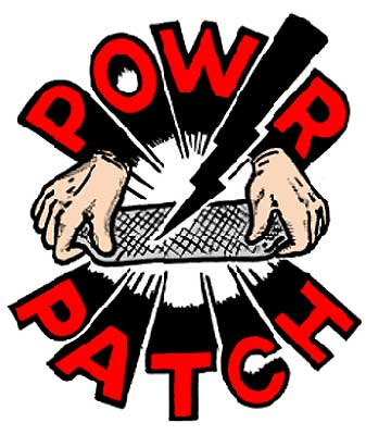 "POW-R-PATCH - Pre-measured Repair Kit - 4"" x 12"""