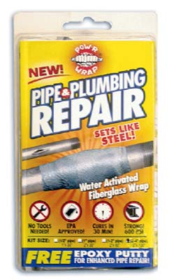 "POW-R WRAP+ - Pipe & Hose Repair Kit - 2"" x 60"""