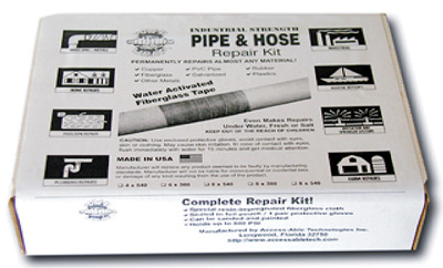 "POW-R WRAP+ - Pipe & Hose Repair Kit - 4"" x 540"""