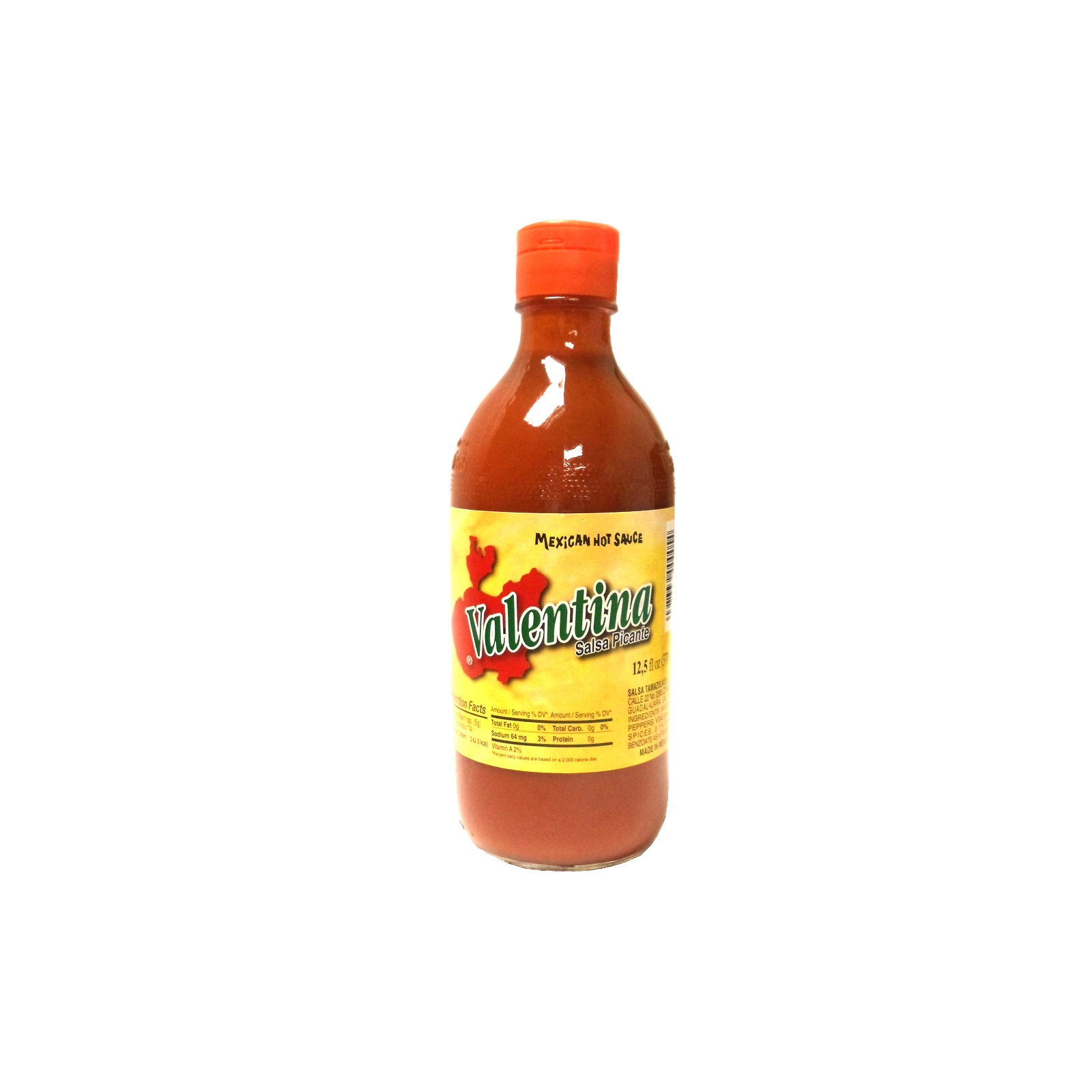 Valentina, Hot Sauce Red, 12.5-Ounce (24 Pack)