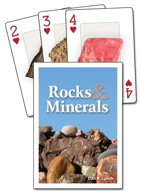 Rocks and Minerals Playing Cards