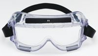 3M+ 454 Centurion+ Chemical Splash Goggles With Clear Frame And Clear Lens