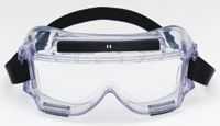 3M+ 454AF Centurion+ Chemical Splash Goggles With Clear Frame And Clear Anti-Fog Lens