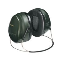 3M+ Peltor+ Optime+ 101 Behind-the-Head Earmuffs With Fluid Foam Filled Cushions NRR 26 dB