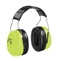 3M+ Peltor+ Optime+ 105 Hi-Viz+ Over-The-Head Twin-Cup+ Earmuffs NRR 30 dB