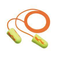 3M+ Single Use E-A-R+ E-A-Rsoft+ Yellow Neon Blasts Tapered Foam And PVC Corded Earplugs