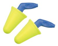3M+ Multiple Use E-A-R+ Push-Ins+ SoftTouch+ Narrow to Wide Foam Uncorded Earplugs With Pistol-Grip Handle (1 Pair Per Poly Bag,