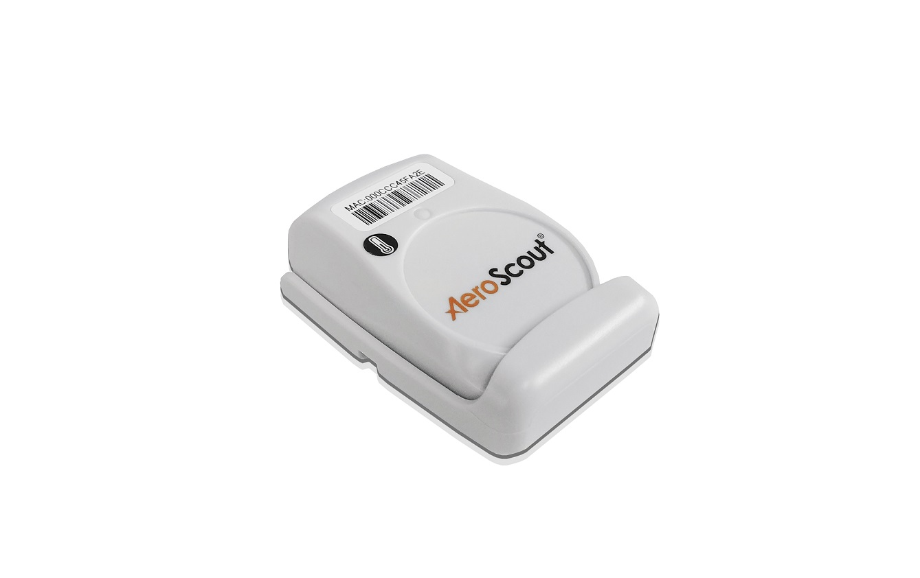 Aeroscout T5a TAG Temperature Sensor TAG-5100