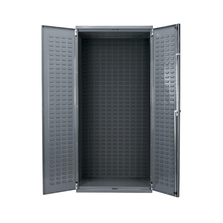 """Akro-Mils AkroBin Storage Cabinet 24""""D, Steel Doors Gray"""