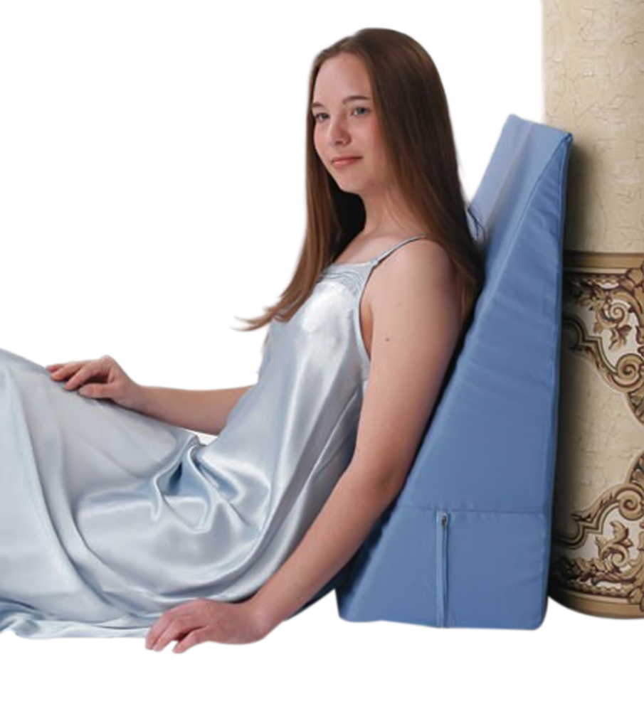 """Alex Orthopedic Convoluted Bed Wedge 12"""" Blue"""