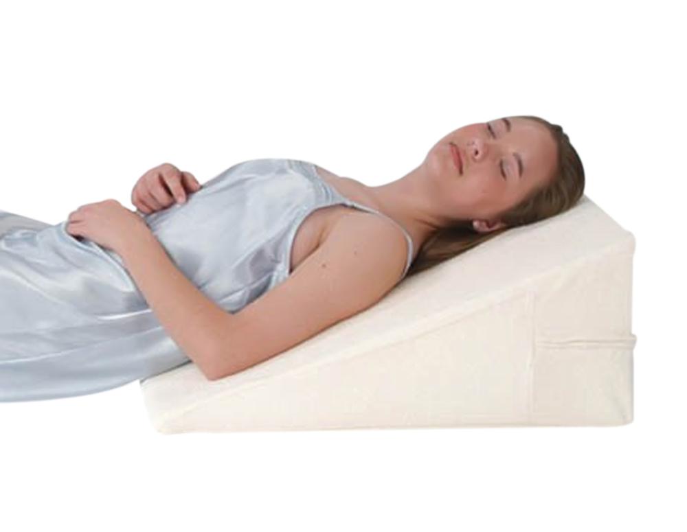 """Alex Orthopedic Bed Wedge 7"""" All Memory Foam"""
