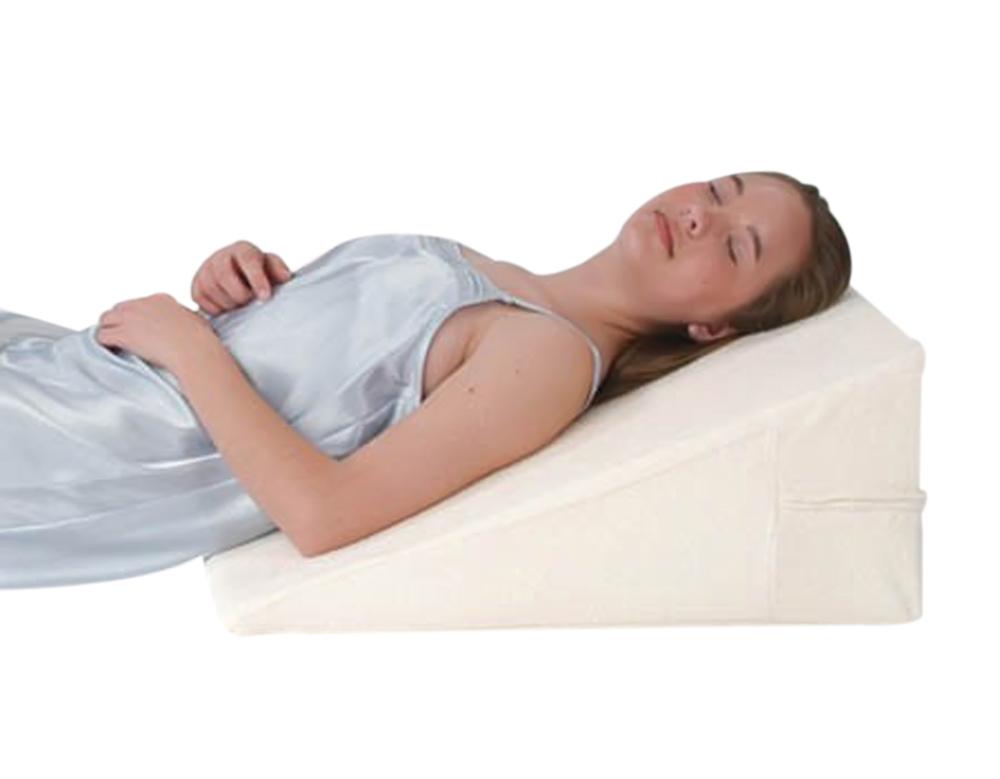 """Alex Orthopedic Bed Wedge 12"""" All Memory Foam"""