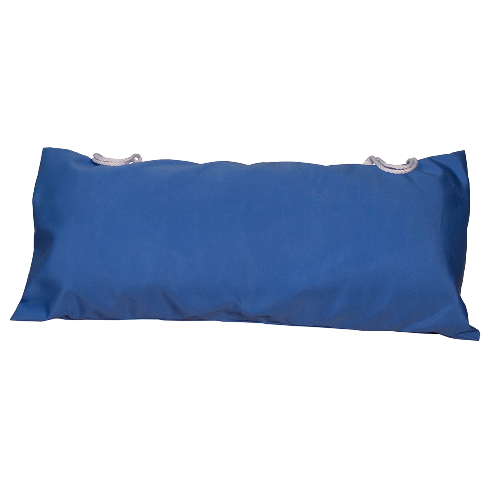 Deluxe Sunbrella Hammock Pillow - Canvas Capri Solid