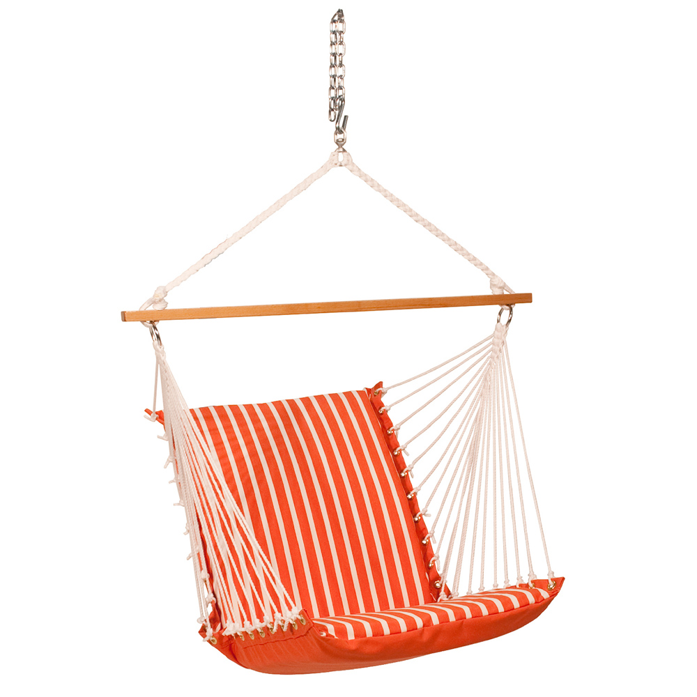 Sunbrella Soft Comfort Hanging Chair - Melon