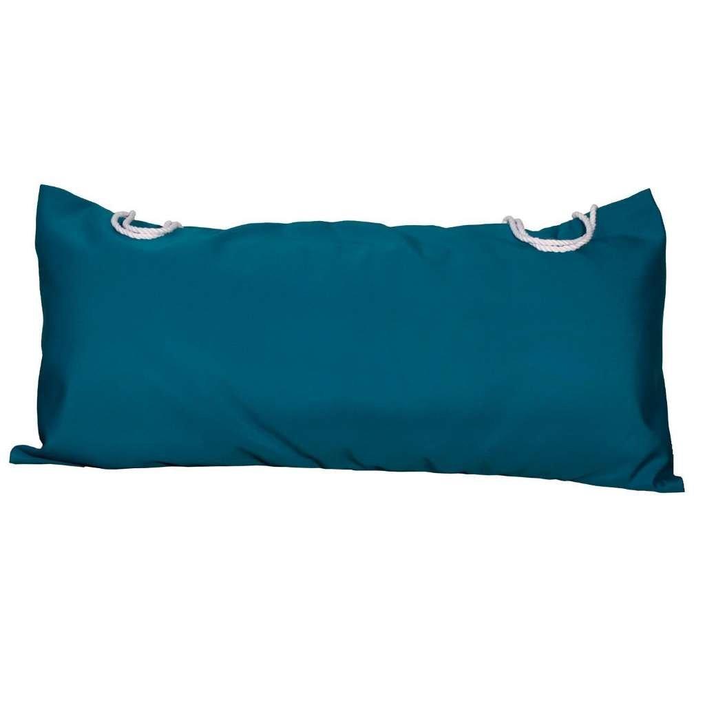 Deluxe Sunbrella Hammock Pillow - Canvas Teal