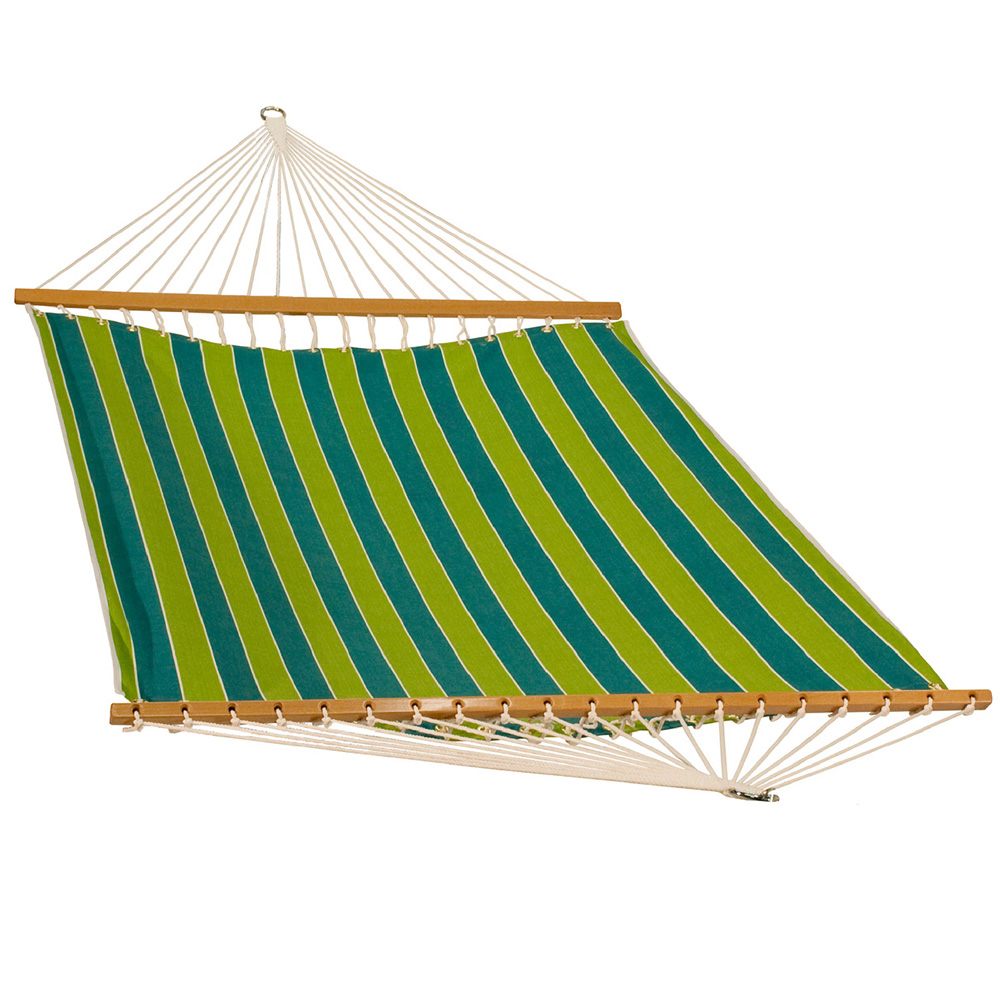 13 Foot Polyester Fabric Hammock - Wickenburg Teal