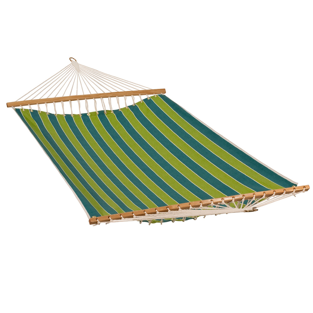 11 Foot Polyester Fabric Hammock - Wickenburg Teal