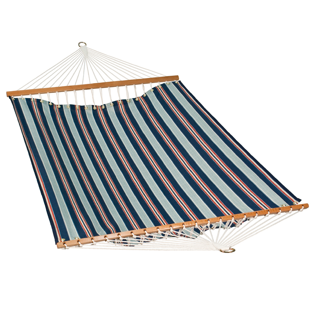 11 Foot Polyester Fabric Hammock - Kingston Stripe