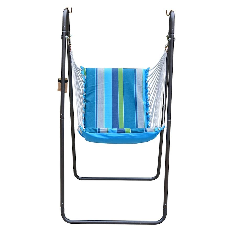 Deluxe Soft Comfort Hanging Chair SUNBRELLA - Calyposo