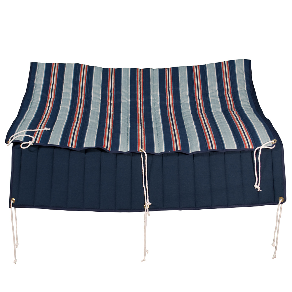 Hammock Pad - Kingston Stripe Arbor/Arbor Blue Solid