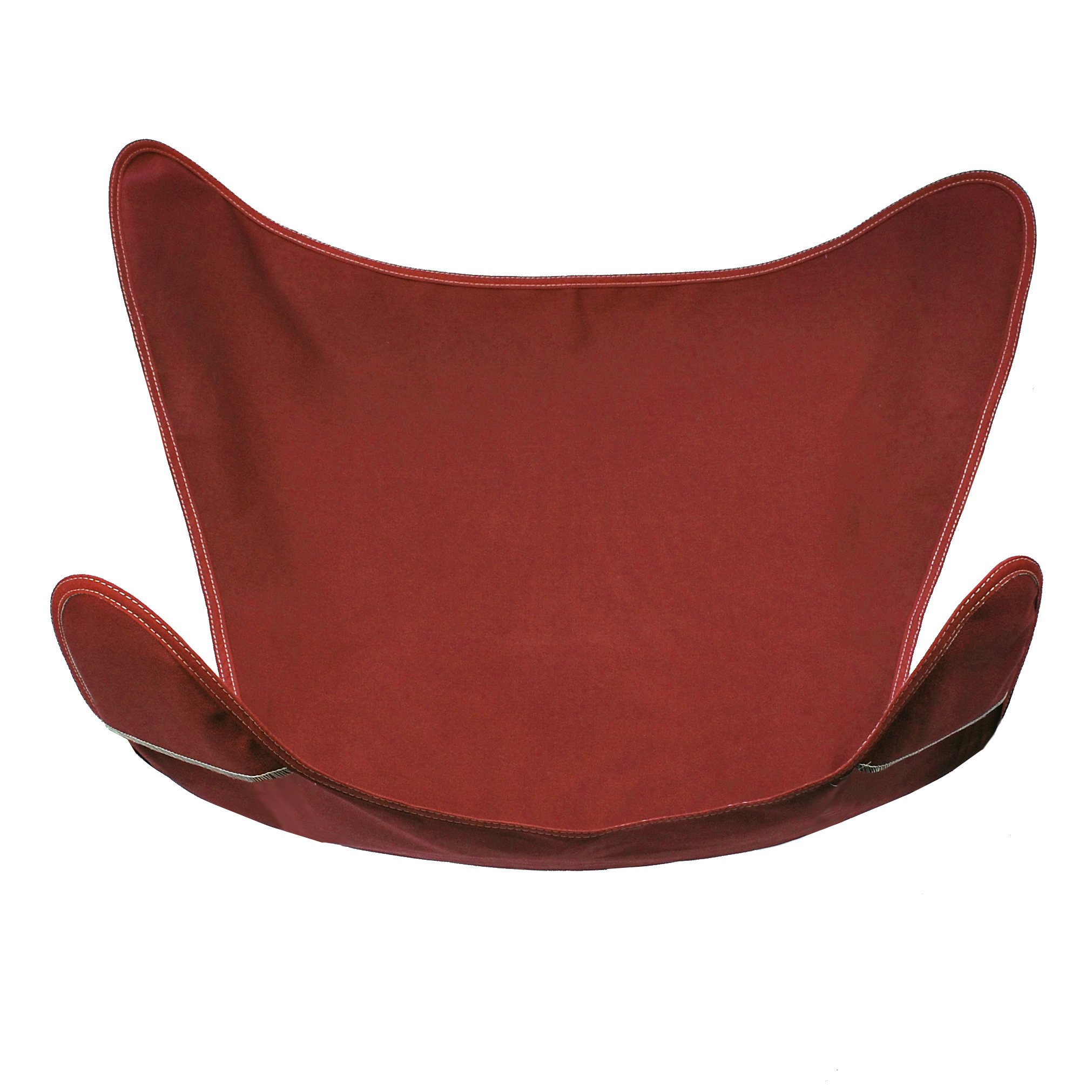 Replacement Cover for Butterfly Chair - Burgundy
