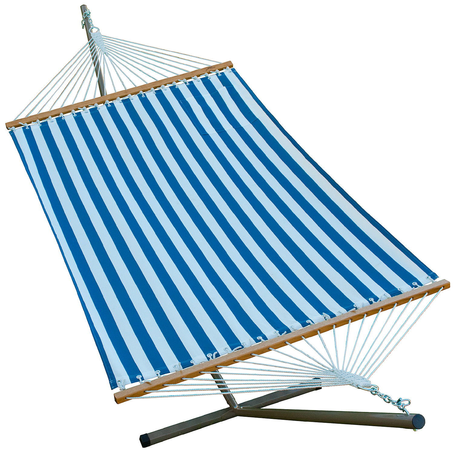 12' Fabric Hammock and Stand Combination