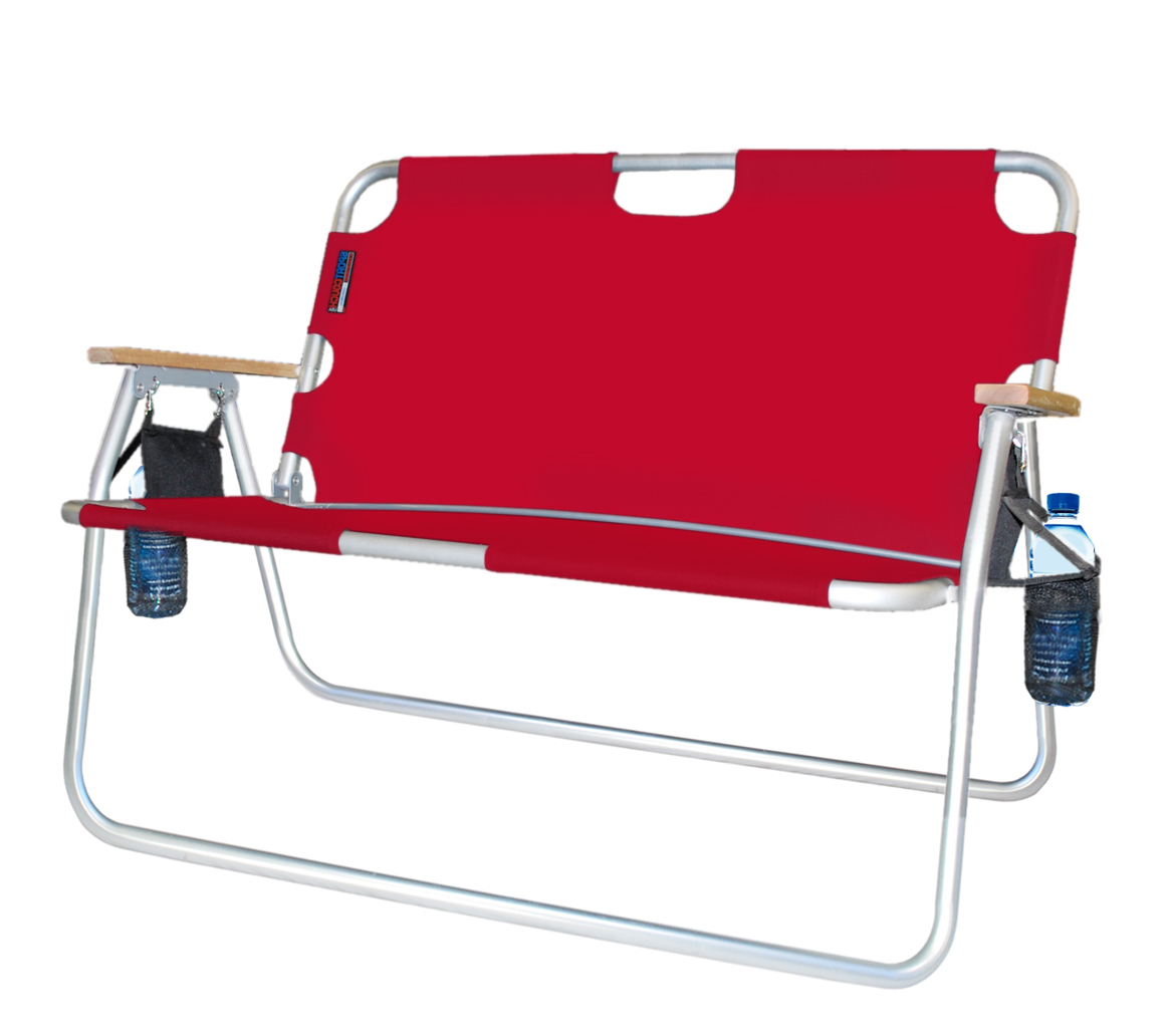 Red Tailgater Folding Chair