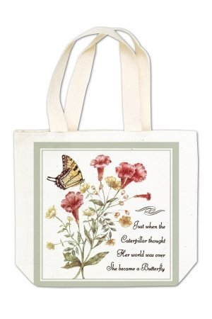 Cat on Bench Gift Tote