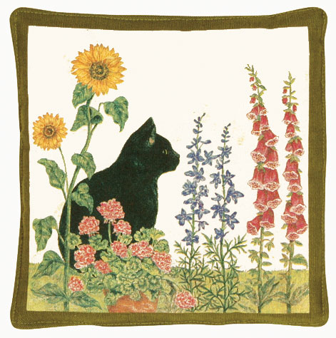 Black Cat Spiced Hot Pad