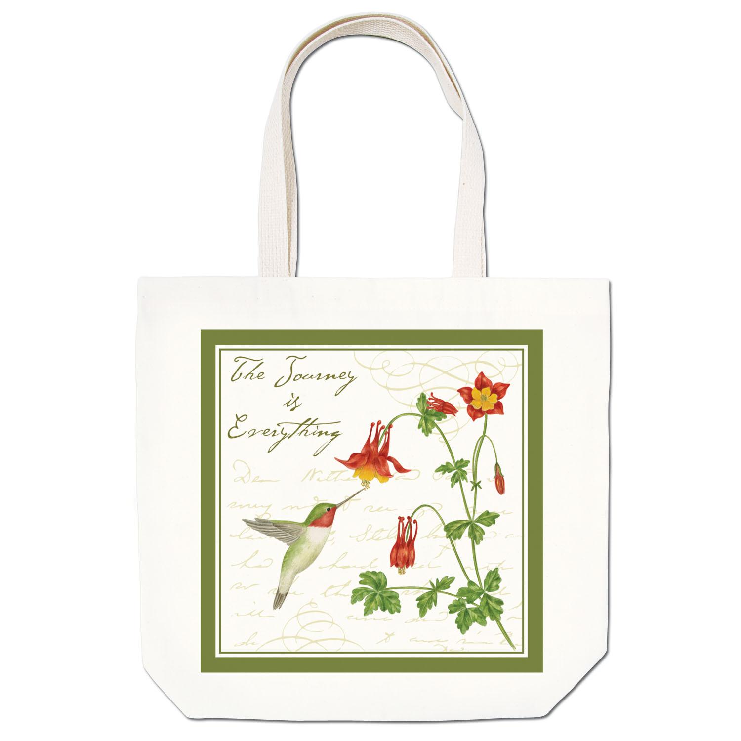 Hummingbird Large Tote