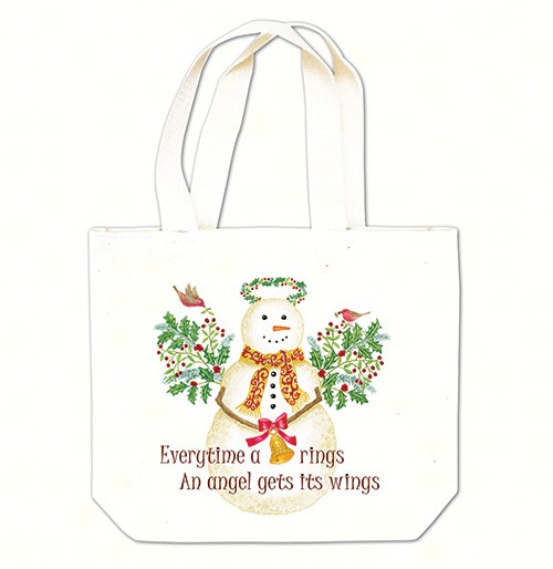 Snow Angel Gift Tote