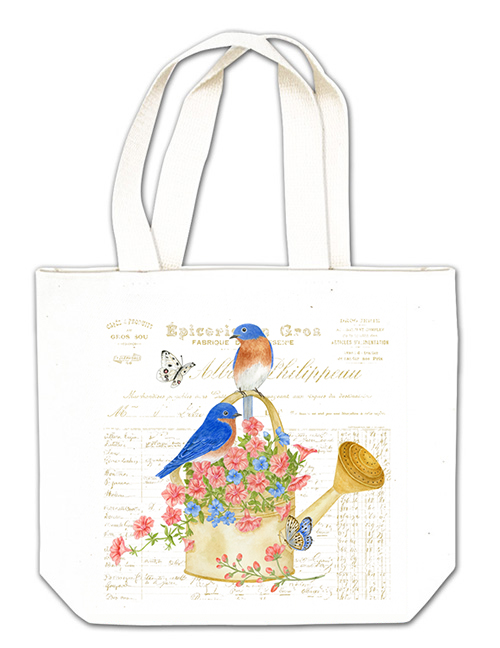 Blue Birds Gift Tote