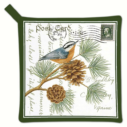 Nuthatch Potholder