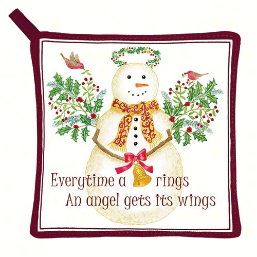 Snow Angel Potholder