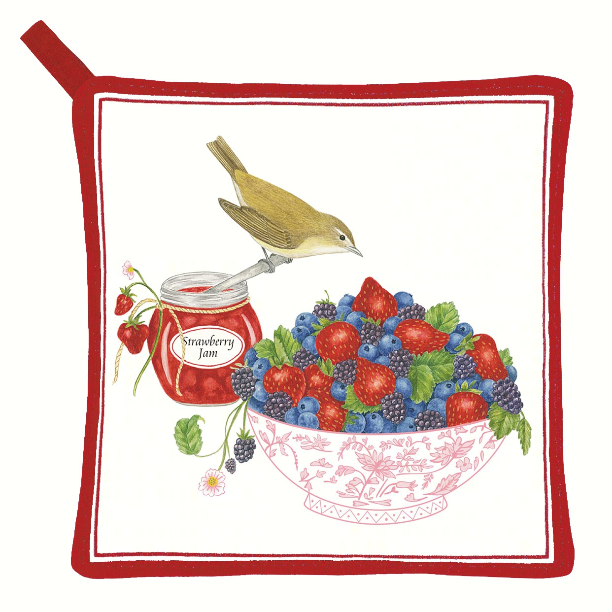 Berry Bowl Potholder
