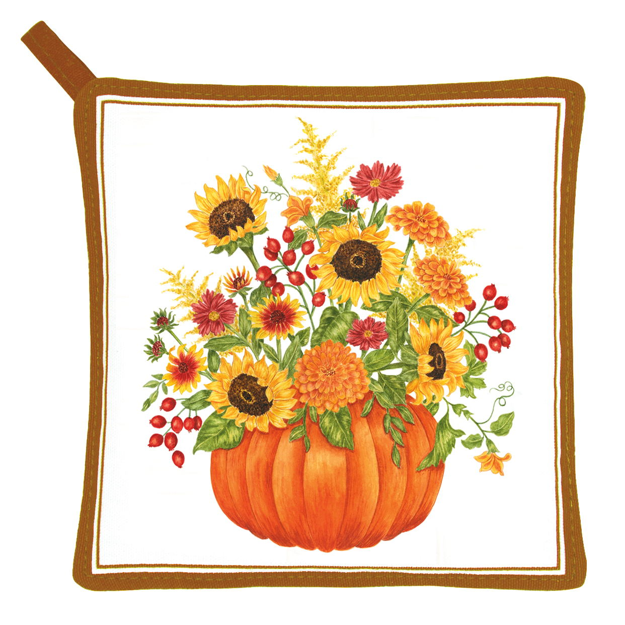 Pumpkin Bouquet Potholder