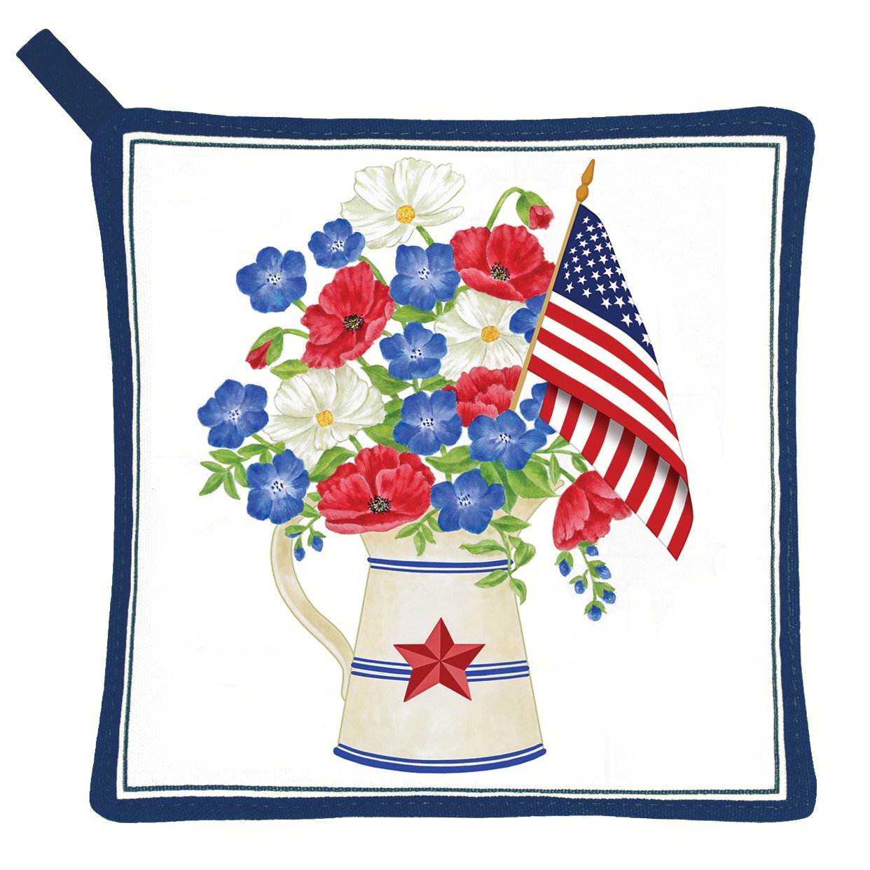 Old Glory Pot Holder