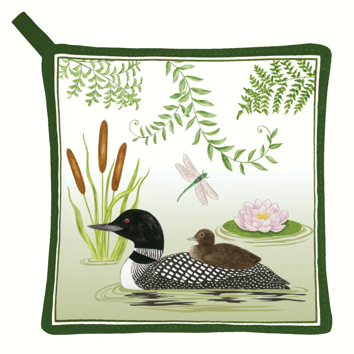 Loon Pot Holder