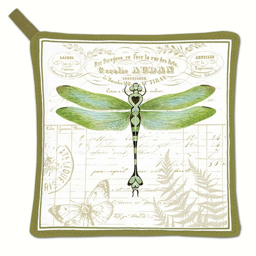 Dragonfly Potholder