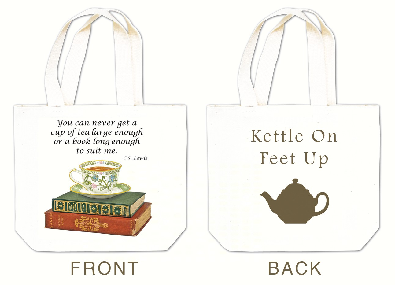 Books n Tea Tea Tote