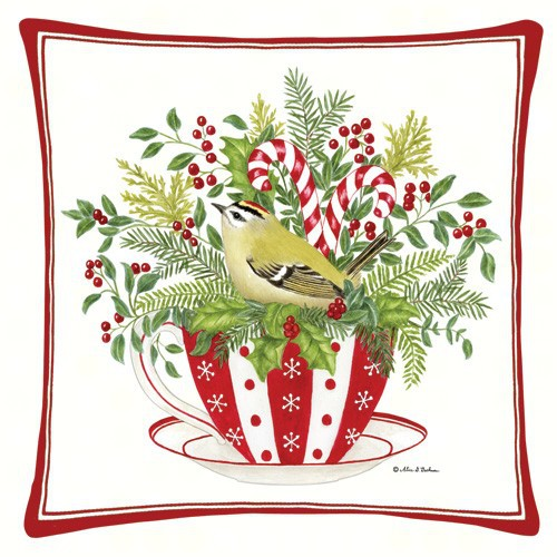 Candy Canes Decor Pillow