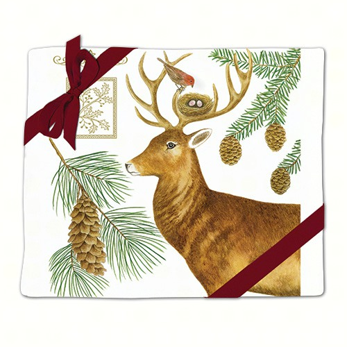 Holiday Deer Flour Sack Towel (Set of 2)