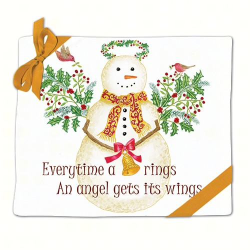 Snow Angel Flour Sack Towels Set of 2