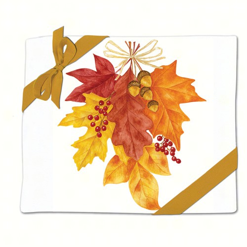Autumn Leaves Flour Sack Towel